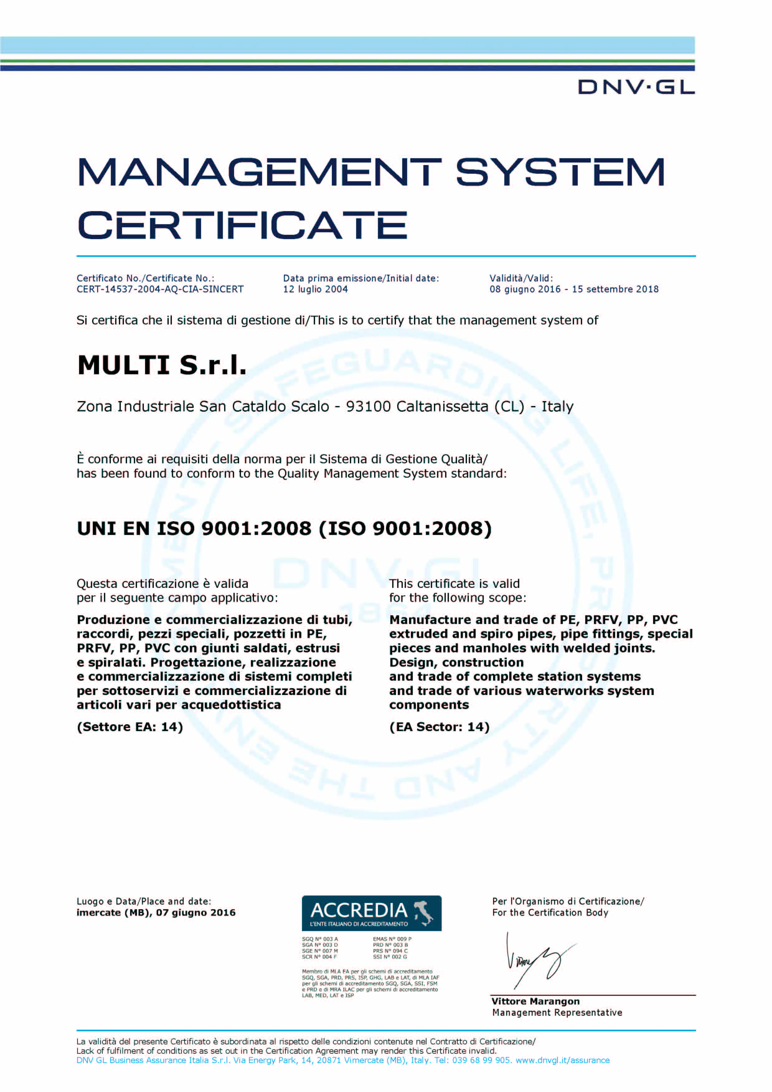 iso 9001 20166