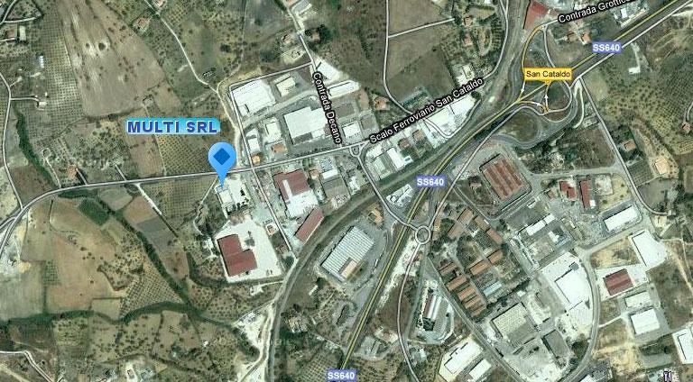 MULTI s.r.l. - Zona Industriale San Cataldo Scalo - 93100 Caltanissetta